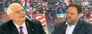 El día en que Borrell dejó bizco del todo a Junqueras durante un soberano combate en una TV privada