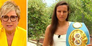 La boxeadora Joana Pastrana corta en seco a las cotillas de 'Amigas y conocidas' ante la polémica que querían crear