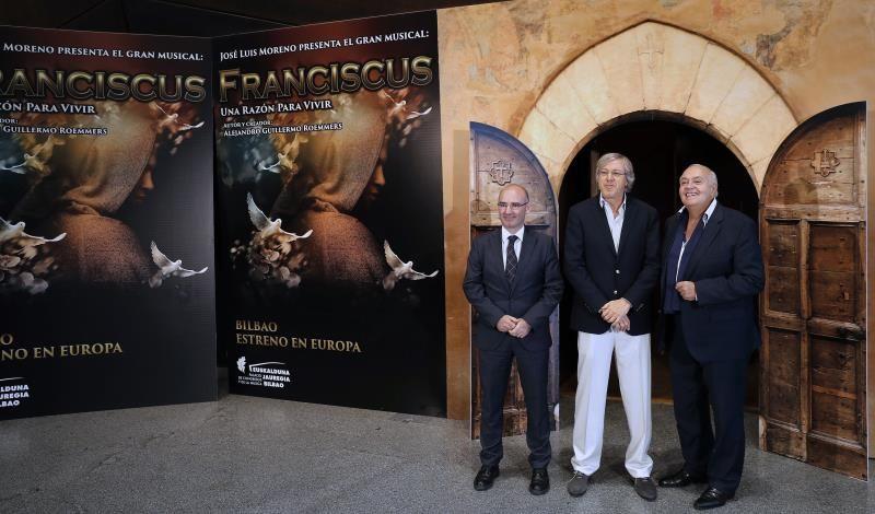 Bilbao acogerá el estreno europeo del musical dedicado a San Francisco Asís