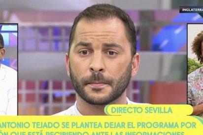 Antonio Tejado se suma a la lista de afectados por 'Sálvame' y abandona destrozado el programa
