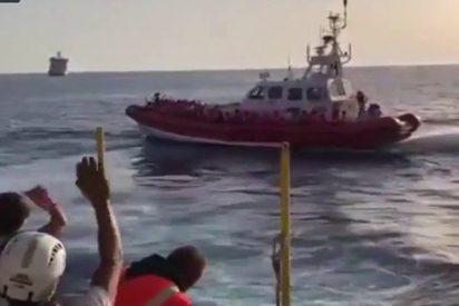 Los pasajeros del Aquarius ponen rumbo a Valencia