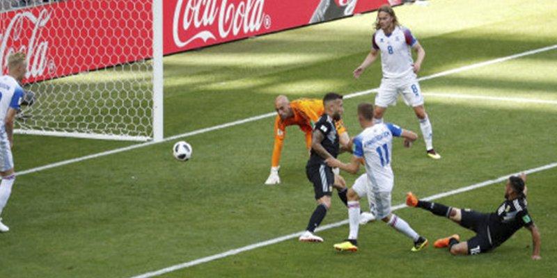Cachondeo en Argentina son su portero tras el gol de Islandia