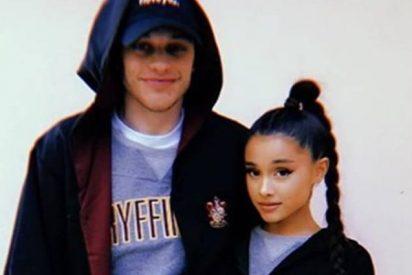 El novio de Ariana Grande es muy grande y se tatúa por amor