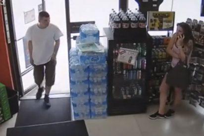 Este arresto en un supermercado de Canadá se convierte en una escena de persecución cómica