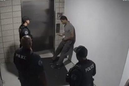 Así agreden estos policías a un sospechoso durante su arresto en EE.UU.