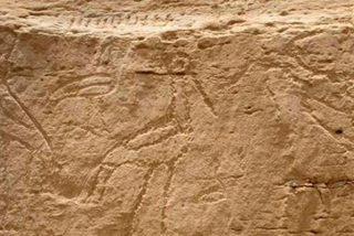 Descubren arte rupestre de hace 5.500 años en el desierto de Egipto