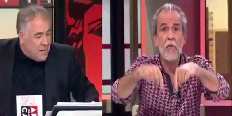 """El tarado Willy Toledo llama """"explotador"""" a García Ferreras y """"cadena del régimen"""" a La Sexta"""