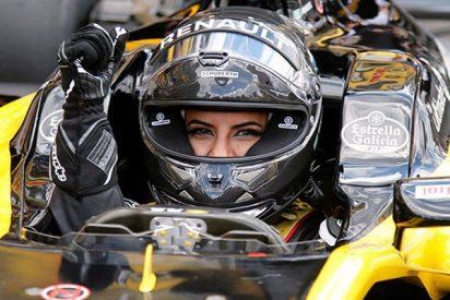 Esta saudita se pone al volante de un Fórmula 1 marcando el inicio del derecho a conducir de las mujeres en su país