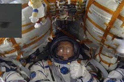 Así viven los astronautas el momento de alcanzar el espacio a 28.800 km/h