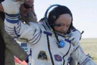 Estos astronautas vuelven a la Tierra con el balón del Mundial de Rusia
