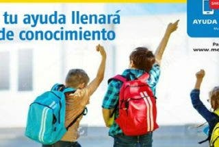 """Mensajeros de la Paz y Correos lanzan la campaña """"Ayúdales a volver al cole"""""""