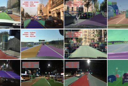 DeepDrive: La inmensa base de datos para el entrenamiento de vehículos no tripulados