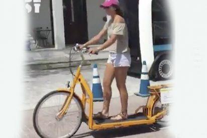 Así es la super bicicleta patinete que lo está petando