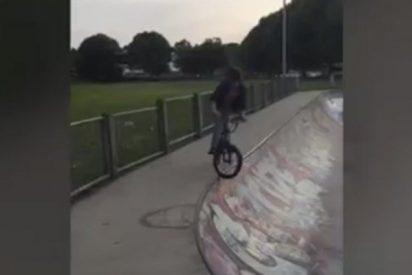 El tonto y la bicicleta