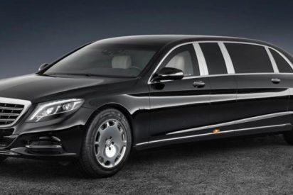 Así es el Mercedes blindado de 1 millón de dólares en el que Kim Jong