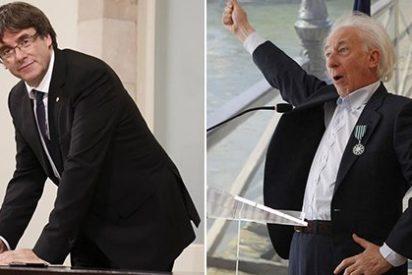 """El burlón mensaje de Albert Boadella a Puigdemont: """"Carlitos, tranquilo, que ya vas a descansar…"""""""