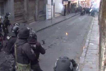 Salvajes protestas de los universitarios en Bolivia por los bajos salarios