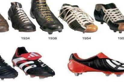 Así han ido evolucionando las botas para jugar al fútbol