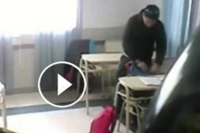 Estos estudiantes esconden una cámara para descubrir quién les robaba en su aula y pasa esto