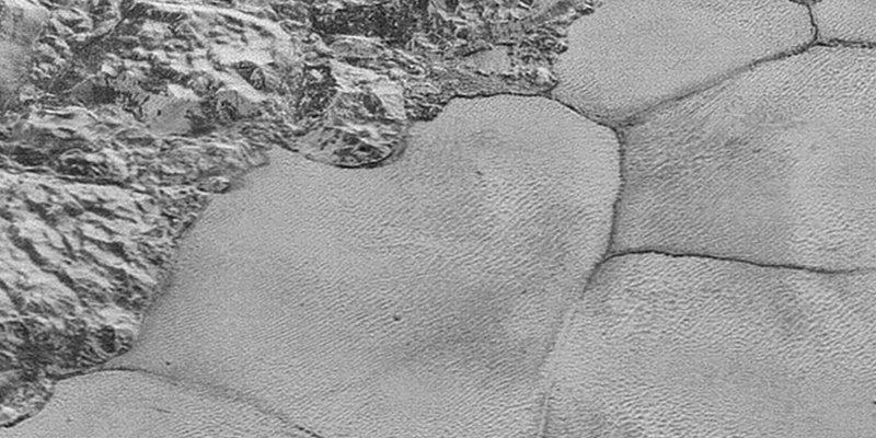 Las dunas en Plutón continene arena de metano