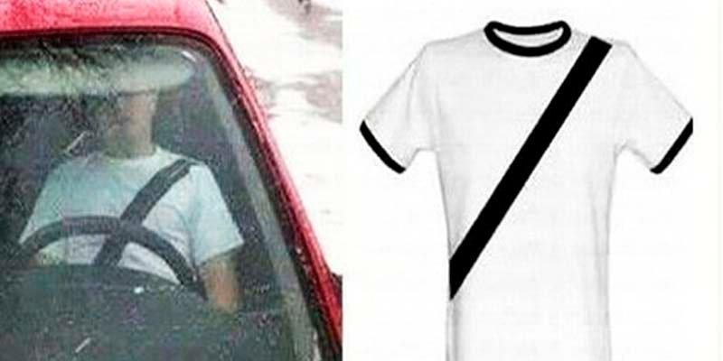 La Guardia Civil alerta a los presumidos: es peligroso de conducir con estas camisetas