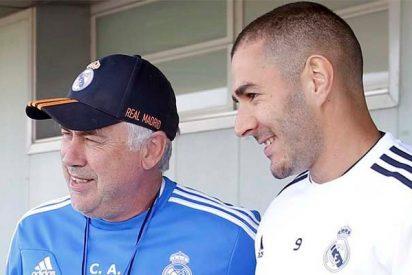 Ancelotti pide a Florentino que el Real Madrid traspase a Karim Benzema a su Nápoles