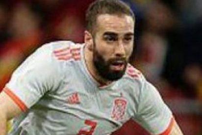 Carvajal se queja a pesar de la victoria ante Irán