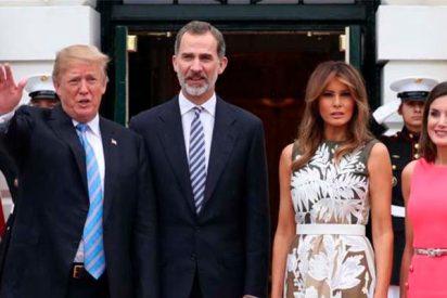 """Donald Trump le dice al Rey Felipe VI que le """"gustaría"""" ir a España"""