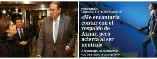 La jugarreta de Atresmedia y Casals contra Pablo Casado: manipulan una frase de su entrevista para vincularle con Aznar
