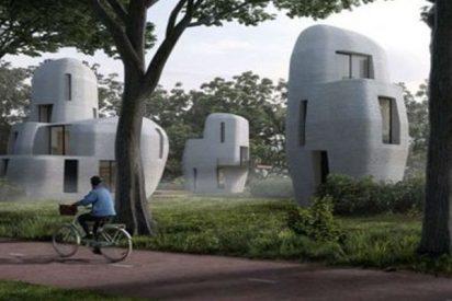 Eindhoven edificará casas de hormigón impreso en 3D