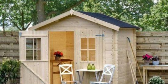 Casetas de madera para jardín desde 85 €