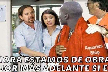 """Eduardo Inda: """"¡Que Iglesias y Montero acojan a inmigrantes en su casa! ¡Tienen 300 metros cuadrados!"""""""
