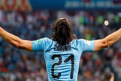 Mundial 2018: El Uruguay de Cavani vence 2-1 al Portugal de Cristiano
