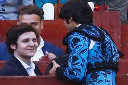 Cayetano Rivera brinda un toro a su amigo Froilán