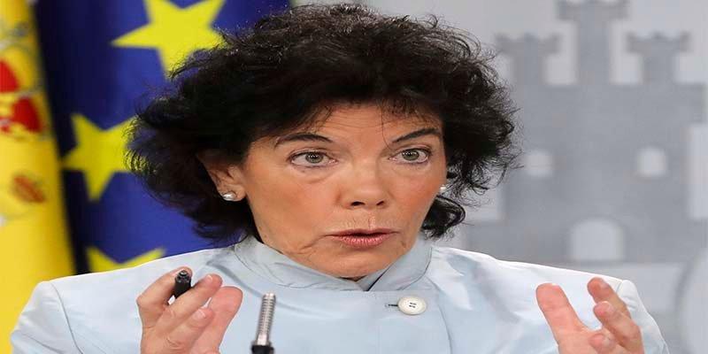 El caótico debut de Isabel Celaá: la portavoz del Gobierno Sánchez que acabó 'asada' por su propia confusión
