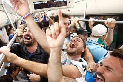 Así celebraron los futbolistas argentinos su pase a octavos