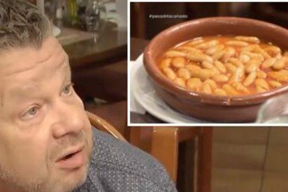 El cabreo histórico de Chicote al descubrir una fabada de bote en un restaurante asturiano