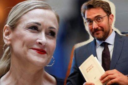 """Cristina Cifuentes sacude un zasca a Màxim Huerta y compañía: """"Buenos días a los que aplican la hipocresía"""""""