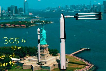 ¿Sabes cómo son realmente los cohetes de Elon Musk?