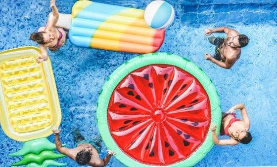 Colchonetas de piscina originales