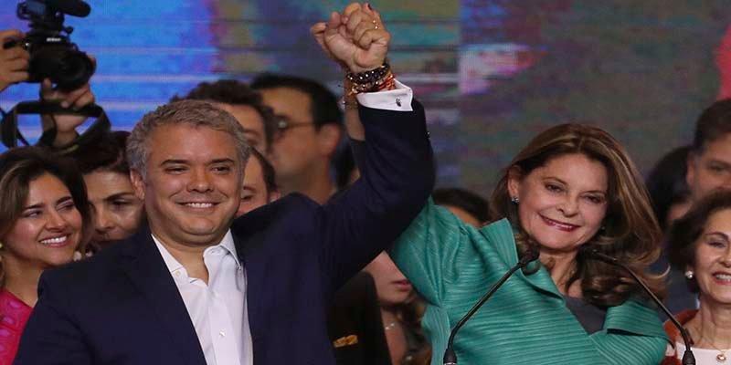 El 'duro' Iván Duque gana las elecciones en Colombia y tendrá una mujer como vicepresidenta