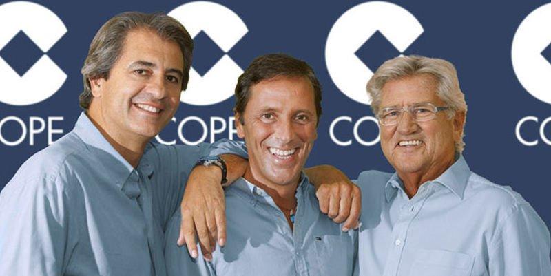 COPE se harta de Castaño, González y Lama y prepara un hachazo tras el Mundial