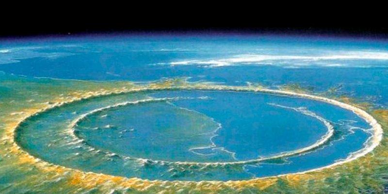 El cráter del asteroide Chicxulub albergó vida a los pocos años