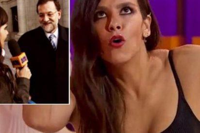"""Cristina Pedroche debutó en televisión entrevistando a Rajoy: """"Lo vas a hacer muy bien"""""""