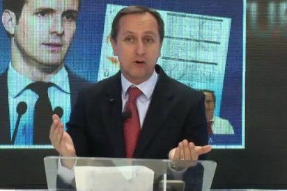 """Carlos Cuesta critica las falsas primarias del PP: """"Tienen miedo a que el militante exprese su opinión"""""""