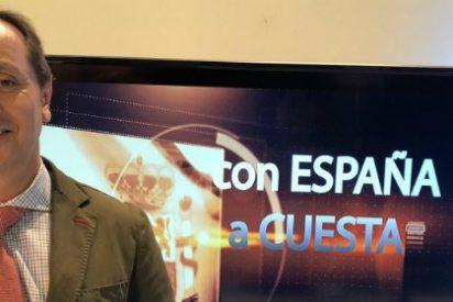 """Carlos Cuesta: """"Manda narices que vayamos dando tumbos por las televisiones por defender a España"""""""