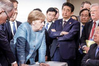 Esta es la foto que resume la ausencia de acuerdo en la cumbre del G-7