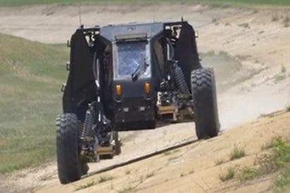 DARPA presenta la rueda-transformer