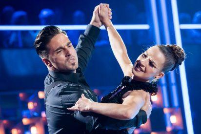 Bustamante y Yana Olina lo vuelven a petar en 'Bailando con las estrellas'
