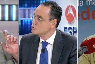 """El repentino y duro ataque de De Prada al """"periodismo farlopero comandado por Hermann Tertsch"""" en televisión"""